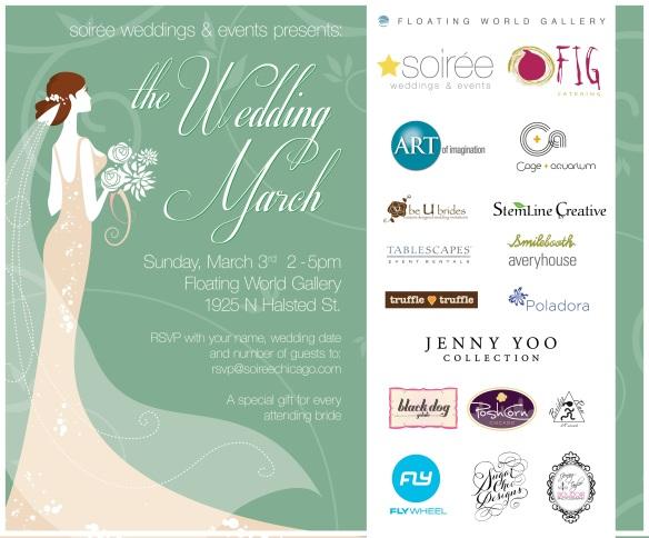 The Wedding March Invite