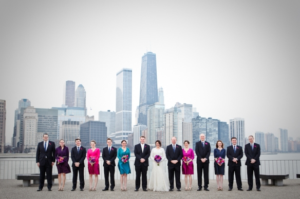 New Year's eve wedding in Chicago