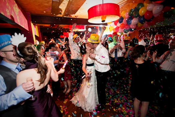 Chicago New Year's Eve wedding