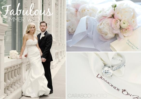Newberry Library wedding - blush and slate wedding