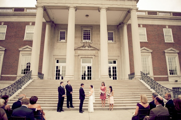 Chicago History Museum wedding ceremony