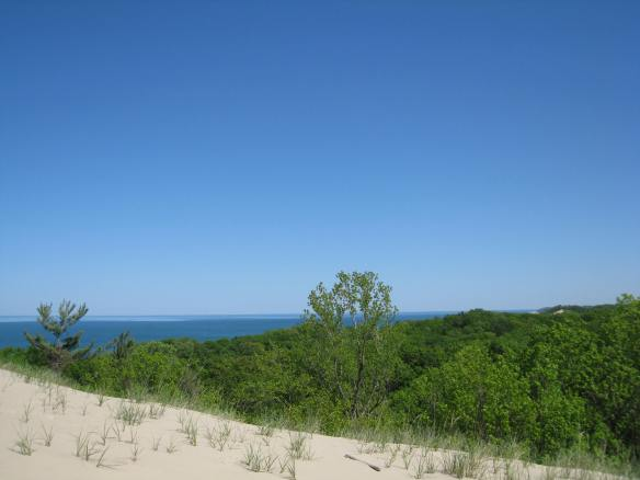 view of Lake Michigan