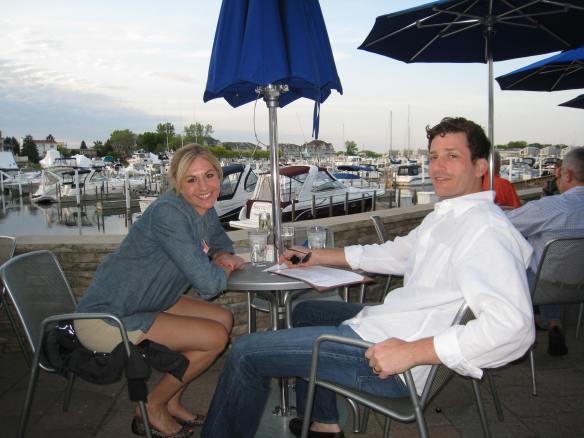 Tiff and Rick at Brentwood Tavern