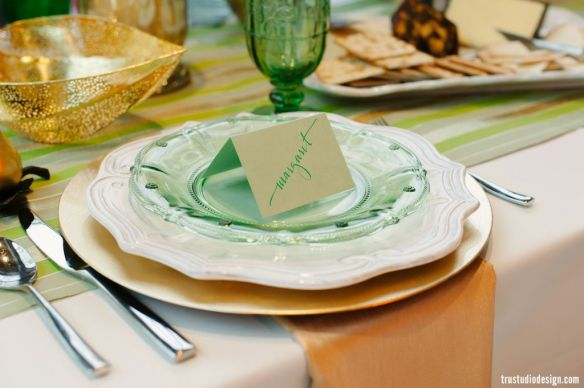 Irish dinner party escort cards