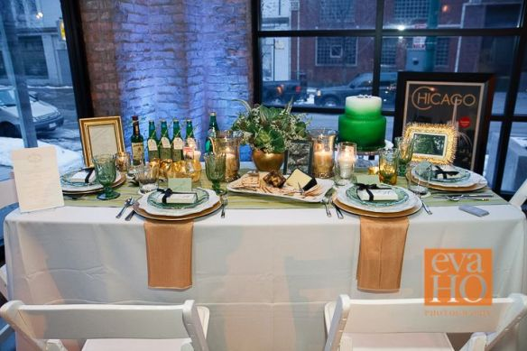 St. Patrick's Day wedding theme