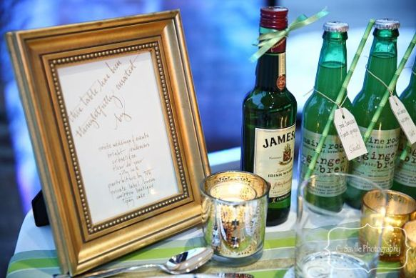 Irish themed dinner party
