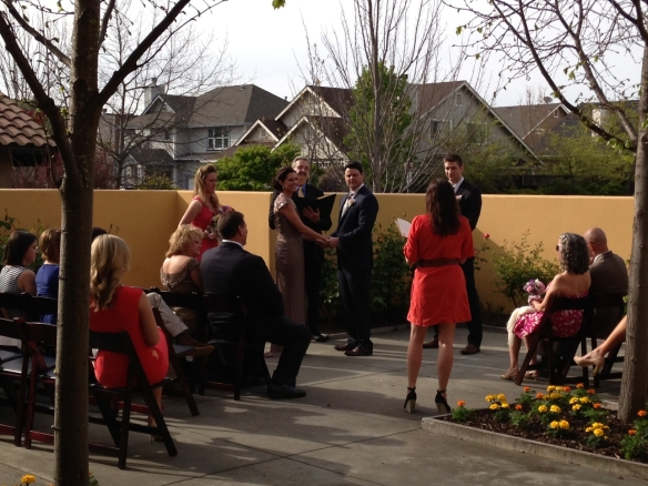Lodge at Sonoma Ceremony