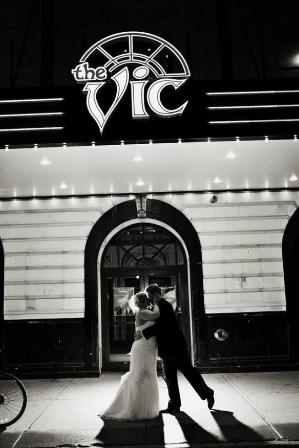 The Vic Theater Wedding