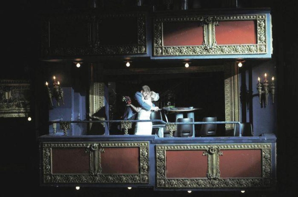 The Vic Theater Wedding Mezzanine