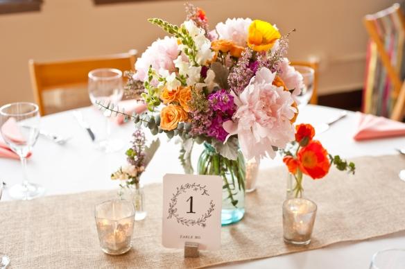 wildflower wedding centerpieces, planning by www.soireechicago.com