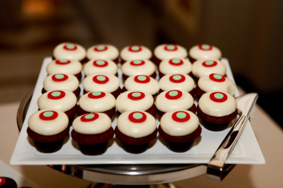 Sprinkles cupcakes, Murphy wedding