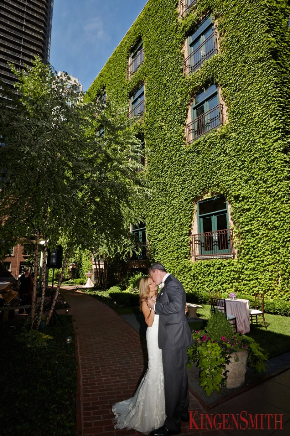 soiree wedding Chicago wedding ivy room