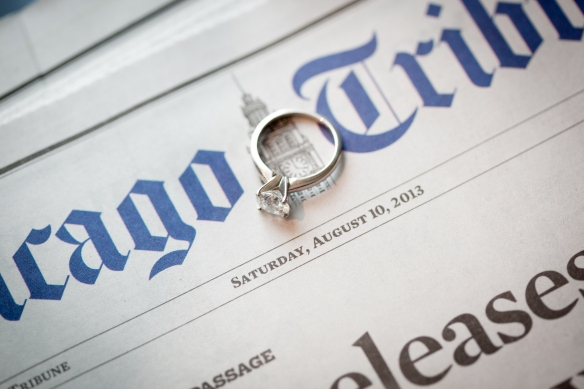 Chicago Tribune Chicago wedding Soiree wedding