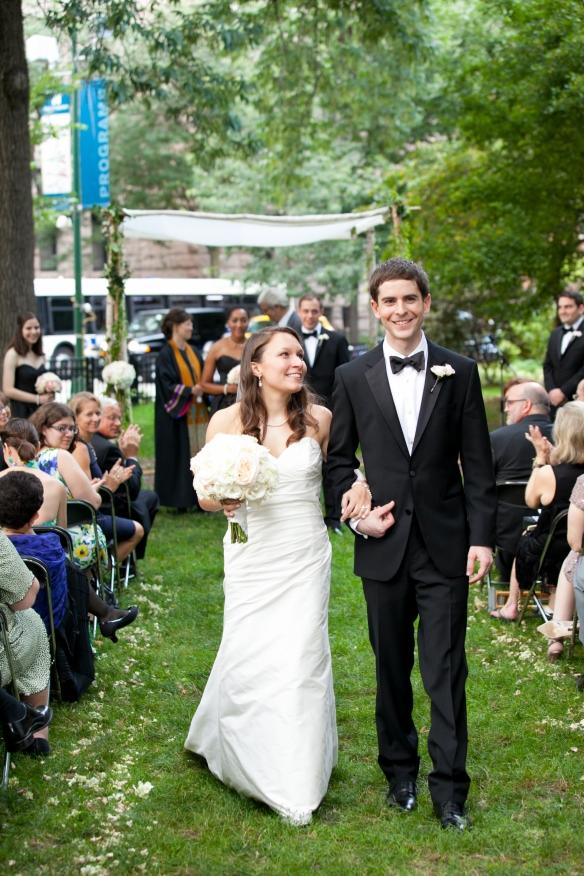 Chicago wedding Newberry Library Jewish ceremony Interfaith ceremony