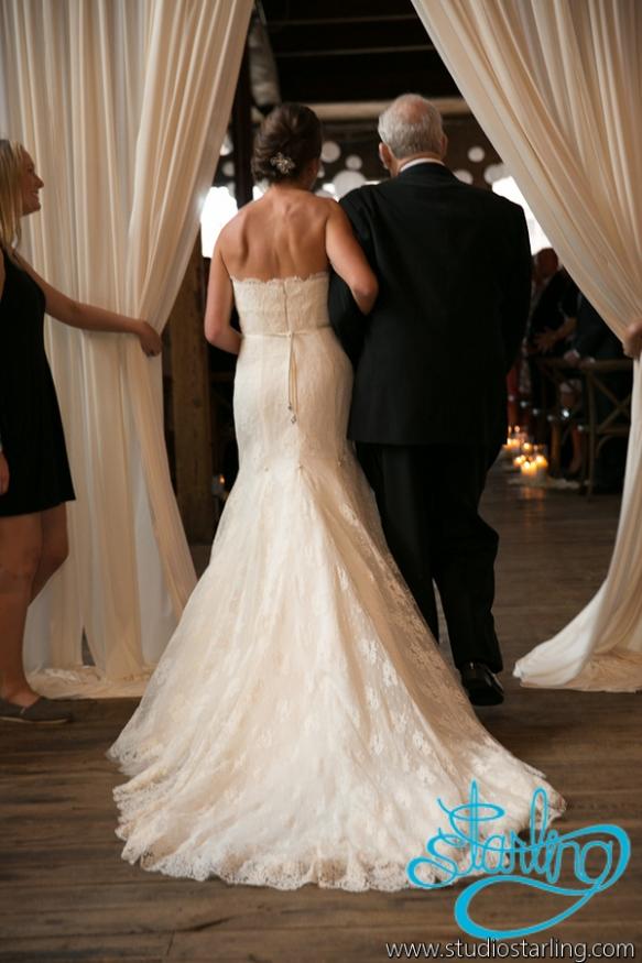 Bride processional Gallery 1028 wedding