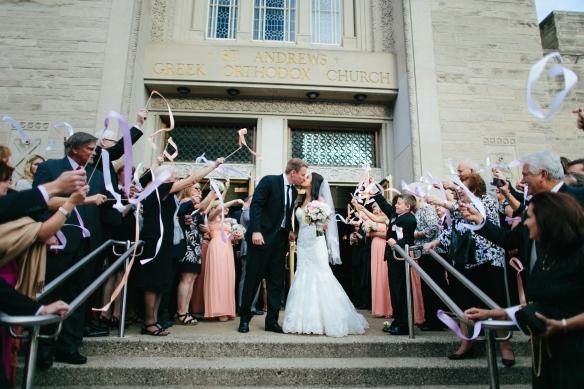 St. Andrew's Greek Orthodox Church Wedding