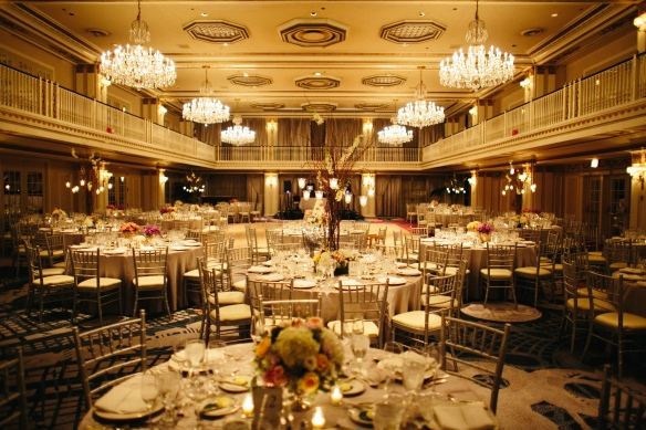 The Drake Grand Ballroom Wedding