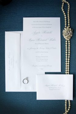 Chicago wedding invitation suite