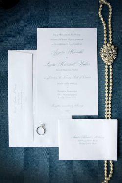 Chicago wedding invitation suite