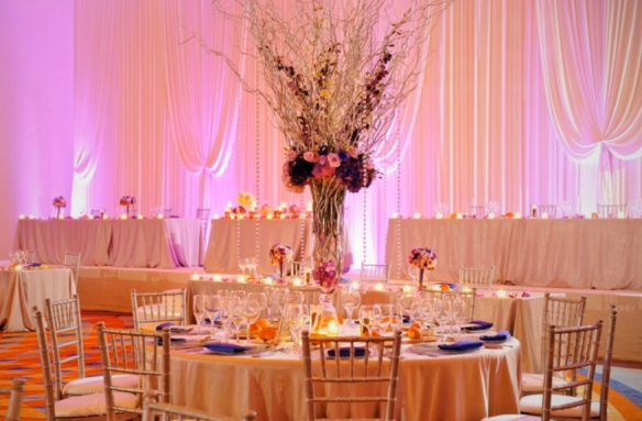 yanni design studio tall centerpieces