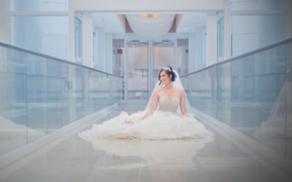 Bridal photos at Renaissance Schaumburg