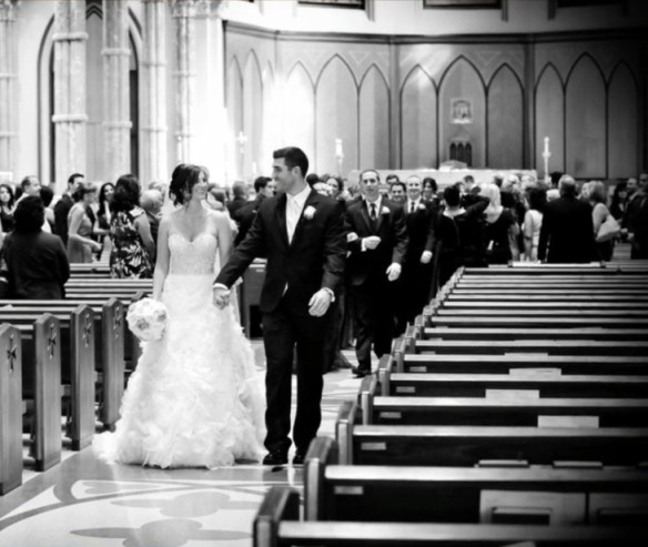 Holy Name Cathedral ceremony recessional