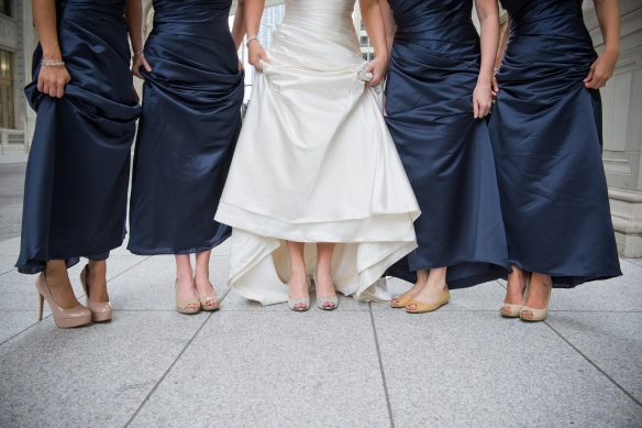 Bridesmaid shoes