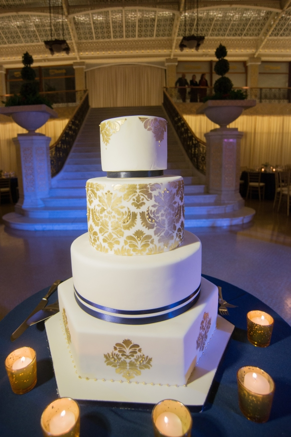 Amy Beck Cake Design Rookery Wedding