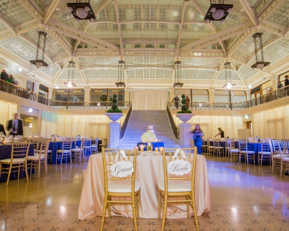 Sweetheart table Rookery Chicago
