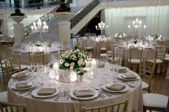 Rookery Wedding reception