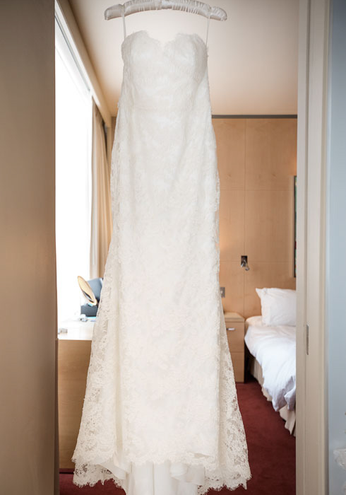 Jim hjelm wedding gown