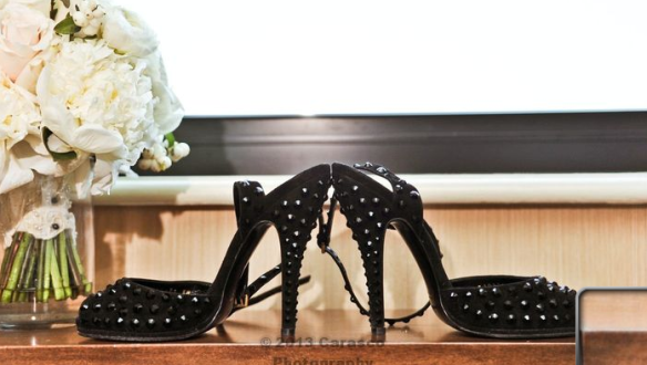black gucci bridal shoes