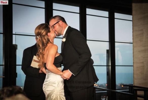J Parker wedding ceremony