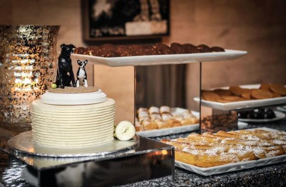 Custom doggie cake topper