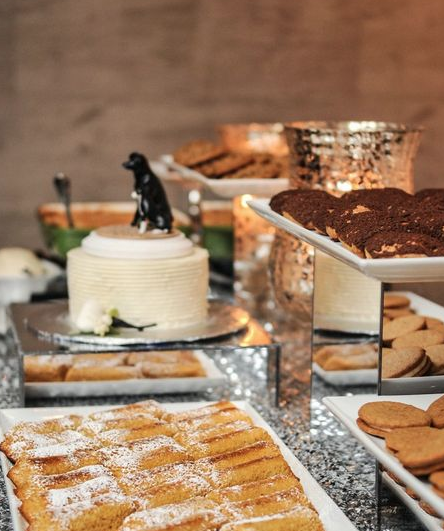 Chicago wedding sweets table