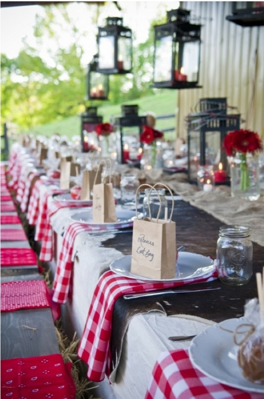 Photo: http://www.intimateweddings.com/blog/gingham-style/
