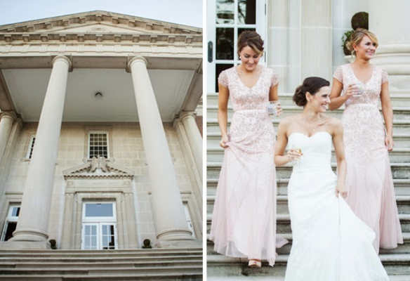 Bridesmaids.on.the.steps